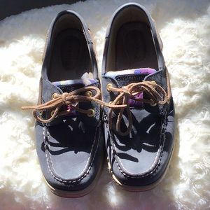 Sperry Navy Top Sider Boat Shoes
